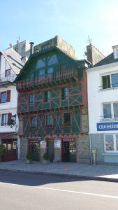 Concarneau maison colombages